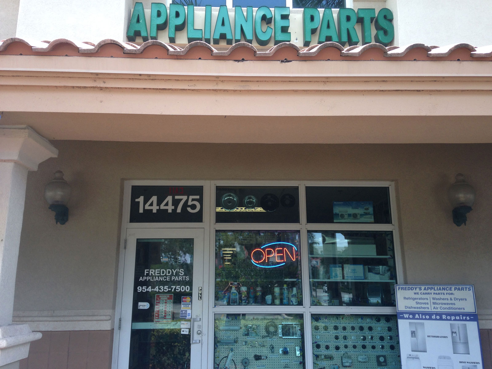 Freddy S Appliance Parts 14475 Miramar Parkway Miramar Fl 33027